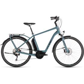 Cube Town Sport Hybrid Pro 400 - Vélo de ville électrique - bleu/Bleu pétrole